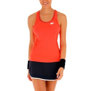 Women`s Tennis Tanks Lotto Teams Tank  Red Fluo 2103924M6