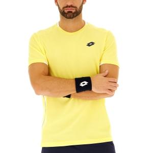 Men's Tennis Shirts Lotto Tennis Teams TShirt  Lime Light 2103753DH