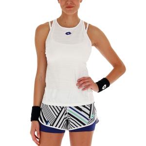Women`s Tennis Tanks Lotto Top Ten II Tank  Bright White 2128300F1