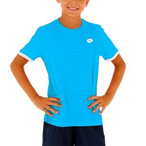 Polo y Camisetas de Tenis Lotto Top Ten II Camiseta Nino  Diva Blue 2131105P1