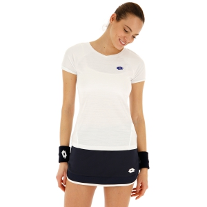 Women`s Tennis T-Shirts and Polos Lotto Top Ten II TShirt  Bright White 2128320F1