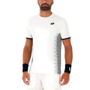 Camisetas de Tenis Hombre Lotto Top Ten II Camiseta  Bright White 2128210F1
