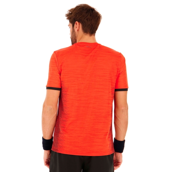 Lotto Top Ten II Camiseta - Red Poppy