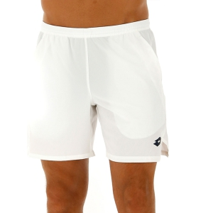 Pantalones Cortos Tenis Hombre Lotto Top Ten II 7in Shorts  Bright White 2128250F1
