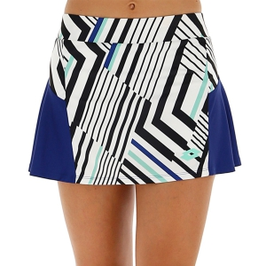 Skirts, Shorts & Skorts Lotto Top Ten II Print Skirt  Bright White/Sodalite Blue 2128363ZM