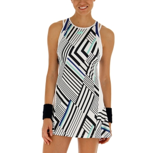 Vestido de Tenis Lotto Top Ten II Print Vestido  Bright White/Sodalite Blue 2128383ZM