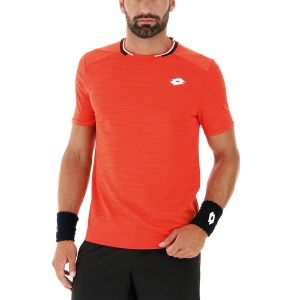 Camisetas de Tenis Hombre Lotto Top Ten Camiseta  Red Poppy 2128191OS