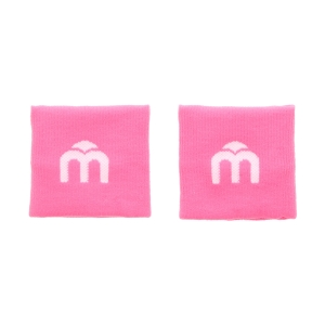 Tennis Head and Wristbands Mico Logo Wristbands Woman  Fucsia Fluo AC 1111 172