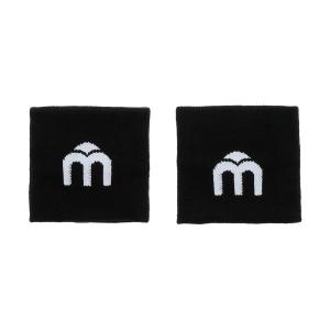 Muñequeras y Bandanes de Tenis Mico Logo Munequeras  Nero AC 1111 007