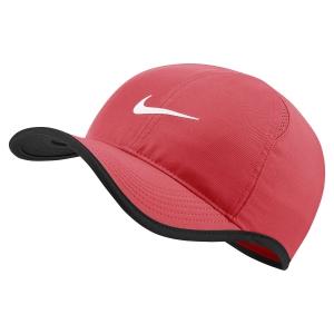 Tennis Hats and Visors Nike Aerobill Featherlight Cap  Ember Glow/Black/White 679421850