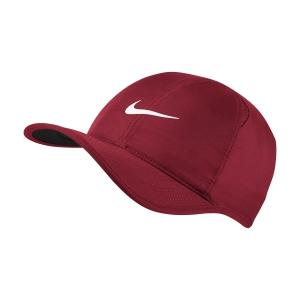 Gorras de Tenis Nike Aerobill Featherlight Gorras  Gym Red/Black/White 679421687