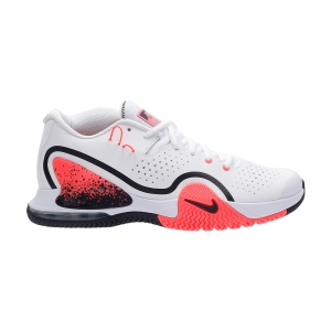 Men`s Tennis Shoes Nike Tech Challenge 20  White/Wolf Grey/Hot Lava/Black BQ0234100