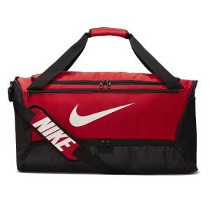 Nike Tennis Bag Nike Brasilia Medium Duffle  University Red/Black/White BA5955657