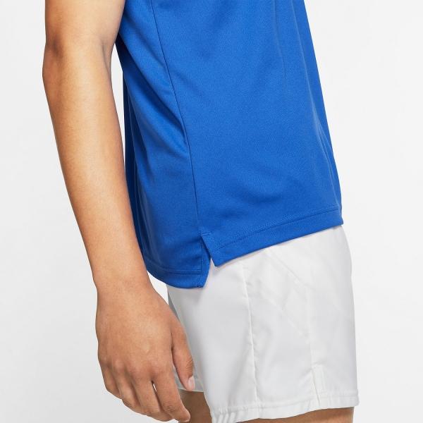 Nike Dry Team Polo - Game Royal/White