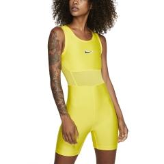 Nike Court Body Traje - Opti Yellow/Off Noir
