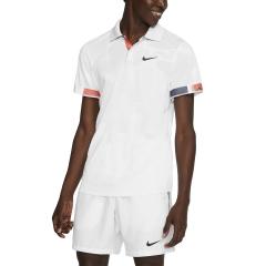 Nike Court Breathe Advantage Polo - White/Off Noir