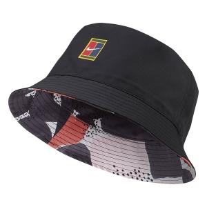 Tennis Hats and Visors Nike Court Bucket Cap  Black CT2268010