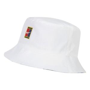 Tennis Hats and Visors Nike Court Bucket Cap  White CT2268100