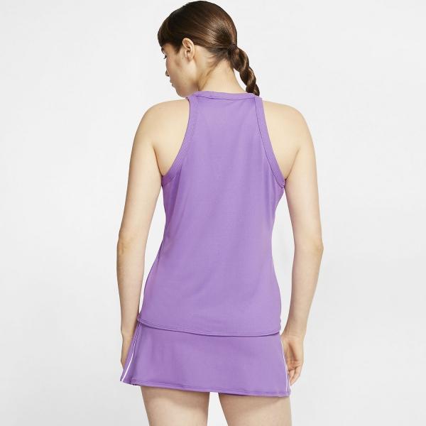 Nike Court Dri-FIT Tank - Purple Nebula/White