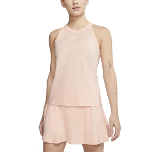 Top de Tenis Mujer Nike Court DriFIT Top  Washed Coral/White AT8983664