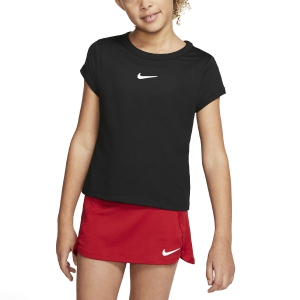 Top y Camisetas Niña Nike Court DriFIT Camiseta Nina  Black/White CQ5386010