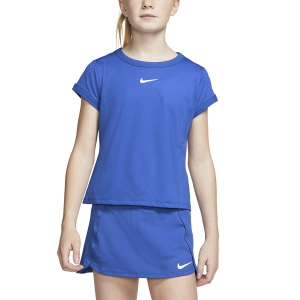 Top y Camisetas Niña Nike Court DriFIT Camiseta Nina  Game Royal/White CQ5386480