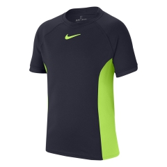 Nike Court Dri-FIT T-Shirt Boy - Obsidian/Ghost Green