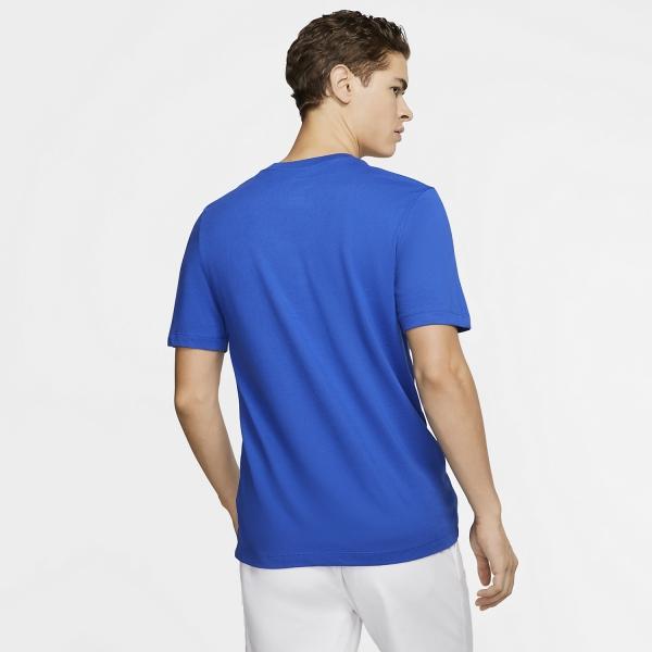 Nike Court Dri-FIT Camiseta - Game Royal/White
