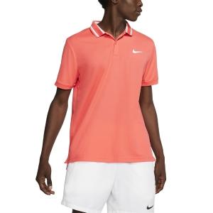 Polo Tenis Hombre Nike Court DriFIT Polo  Ember Glow/White BV1194850