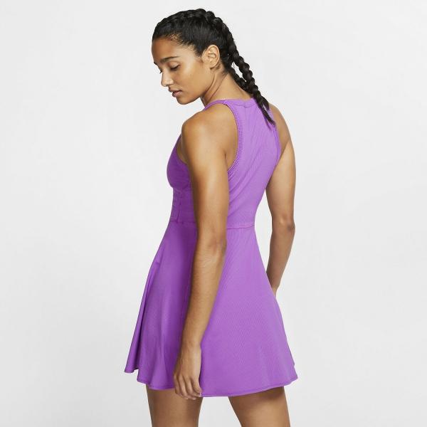 Nike Court Dri-FIT Dress - Purple Nebula/White