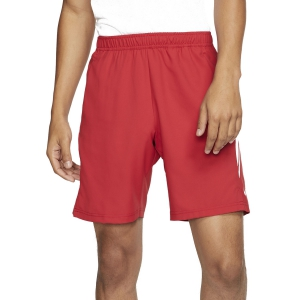 Men's Tennis Shorts Nike Court Dry 9in Shorts  Gym Red/White 939265688
