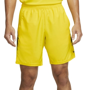 Men's Tennis Shorts Nike Court Dry 9in Shorts  Opti Yellow/Off Noir 939265731
