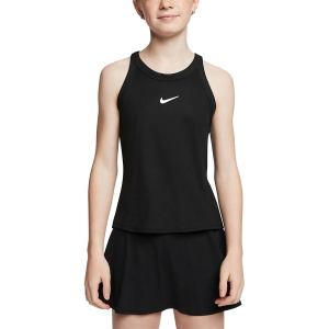 Top y Camisetas Niña Nike Court Dry Top Nina  Black/White CJ0946010