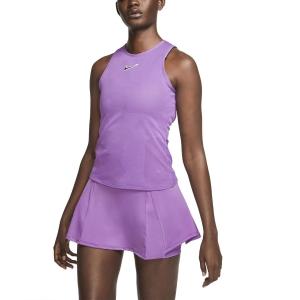 Top de Tenis Mujer Nike Court Dry Top  Purple Nebula/Off Noir CJ1151532