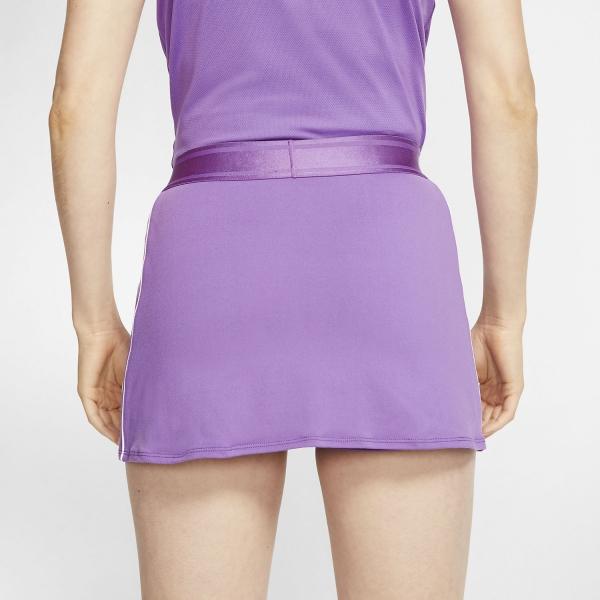 Nike Court Dry Skirt - Purple Nebula/White