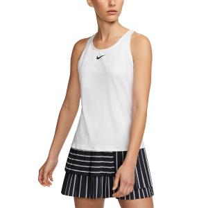 Top de Tenis Mujer Nike Court Dry Logo Top  White/Black CJ0942100