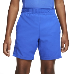 Nike Court Dry 6in Shorts Boy - Game Royal/White