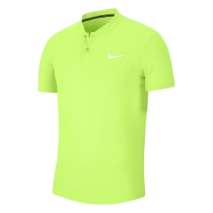 Polo Tennis Uomo Nike Court Dry Polo  Ghost Green/White AQ7732358