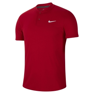 Polo Tenis Hombre Nike Court Dry Polo  Gym Red/White AQ7732687