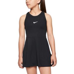 Tennis Dress Girl Nike Court Dry Dress Girl  Black/White CJ0947010