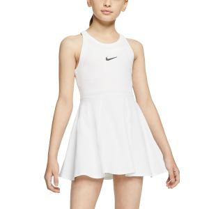 Vestidos Tennis Niñas Nike Court Dry Vestido Nina  White/Black CJ0947100