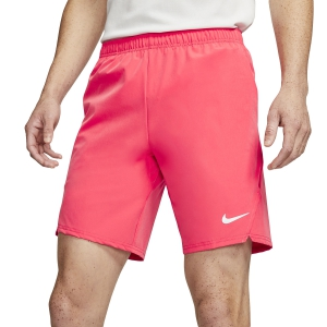 Pantaloncini Tennis Uomo Nike Court Flex Ace 9in Pantaloncini  Ember Glow/White 887515850