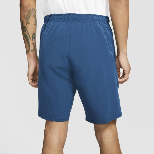 Nike Court Flex Ace 9in Cortos - Valerian Blue/White