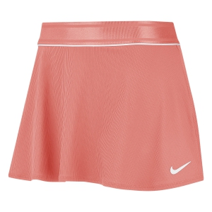 Faldas y Shorts Nike Court Flouncy Falda  Sunblush/White 939318655