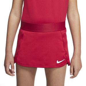 Shorts and Skirts Girl Nike Court Skirt Girl  Gym Red/White BV7391687