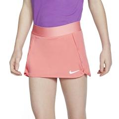 Nike Court Skirt Girl - Sunblush/White