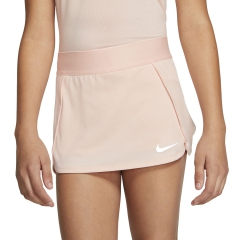 Nike Court Skirt Girl - Washed Coral/White