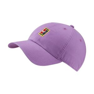Tennis Hats and Visors Nike Court Heritage 86 Cap  Purple Nebula 852184532
