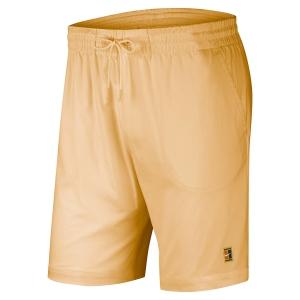 Pantalones Cortos Tenis Hombre Nike Court Heritage 7in Shorts  White Onyx BV0762268