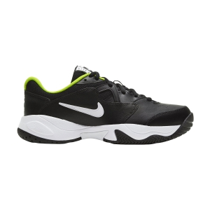 Junior Tennis Shoes Nike Court Lite 2 Boy  Black/White/Volt CD0440007